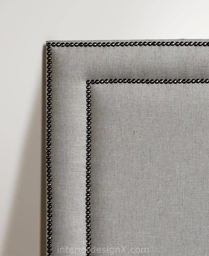 headboard studded res low square product corner