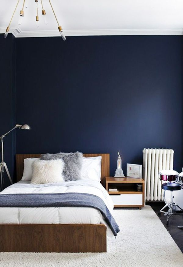 Simple Yet Elegant: Blue Bedroom Walls (With images ...