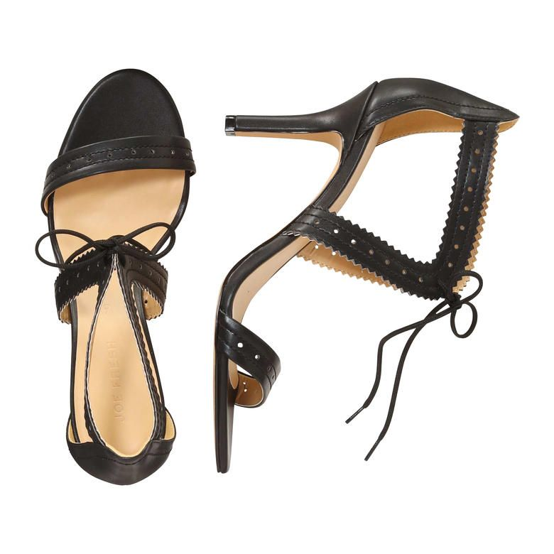 9f3eea5e3a91 Tie Strap Pumps from Joe Fresh. Take your heels up a notch with jagged