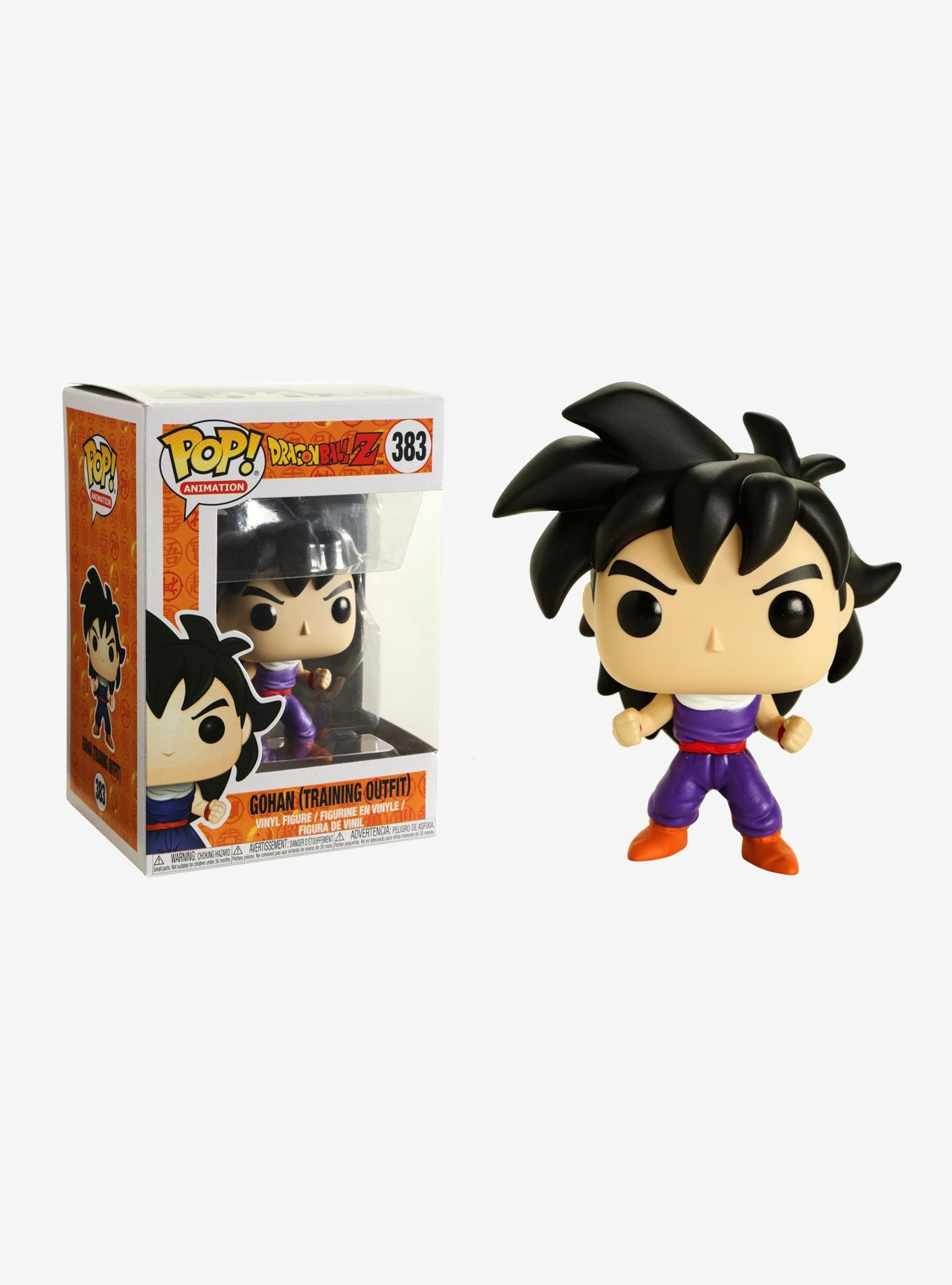 Funko Dragon Ball Z Pop Animation Gohan Training Outfit Vinyl Figure