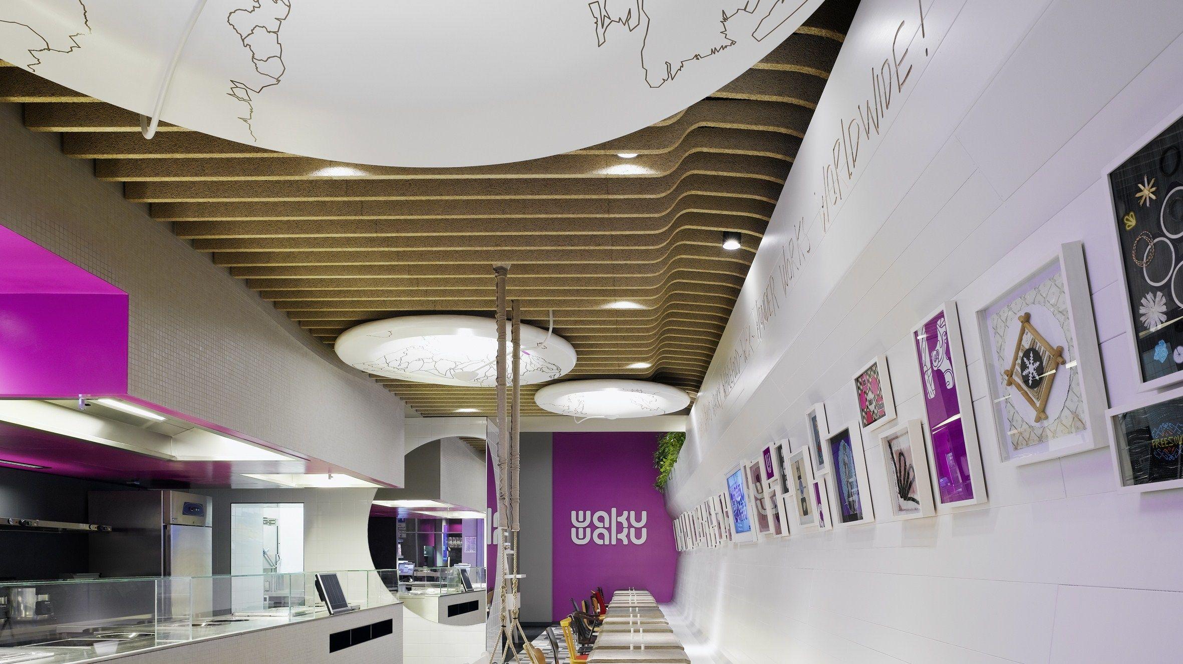interesting ceiling baffles | design | pinterest | ceilings
