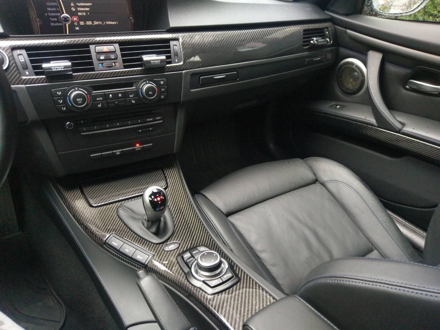 Carbon Fiber Interior Trim Kit On A Bmw E92 M3 S Izobrazheniyami