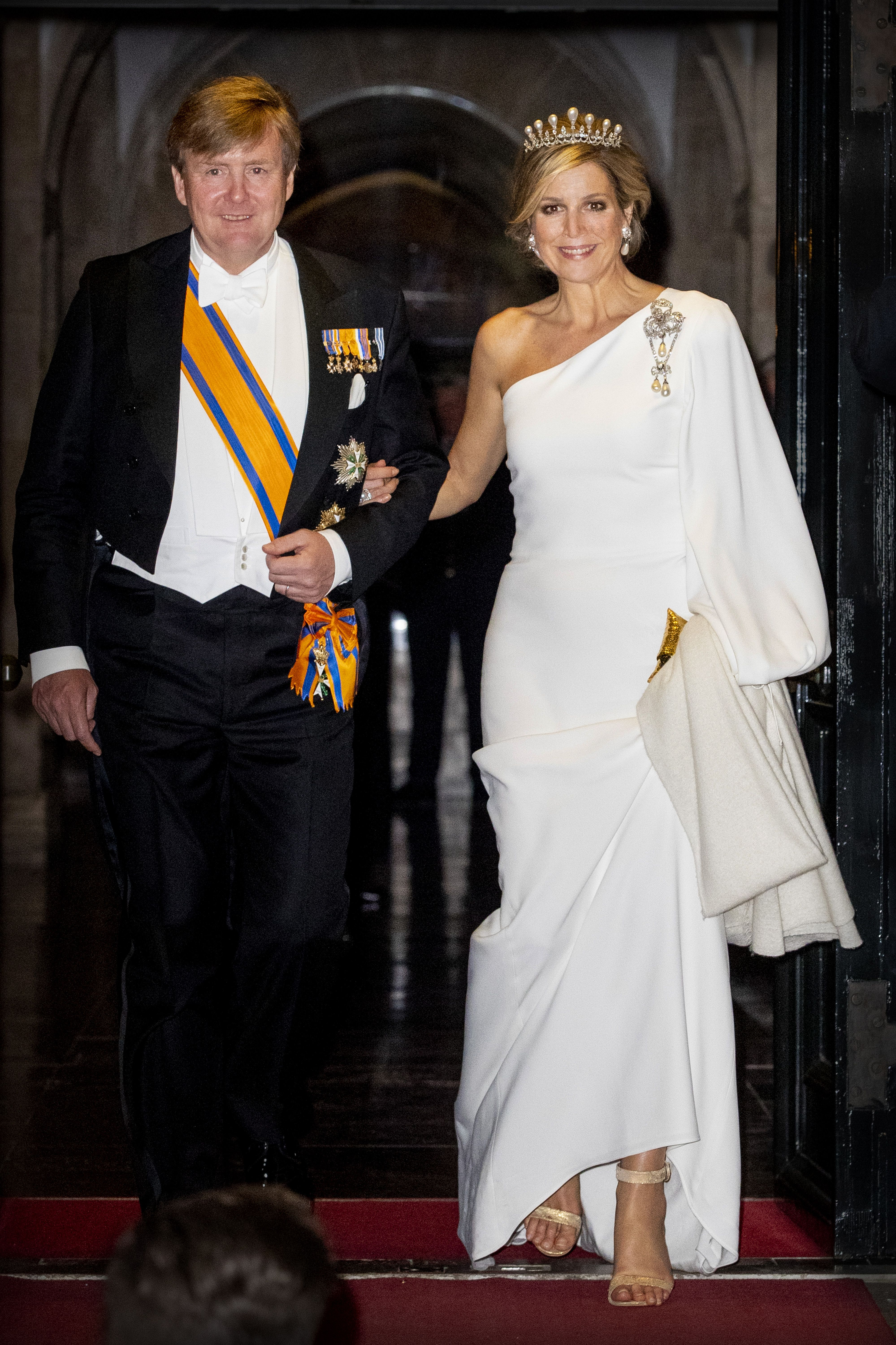 We are honoured to have dressed Queen Máxima of the