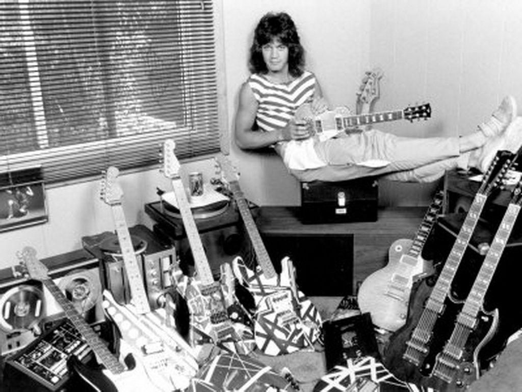 Evh I Love The Guitar Collection Wow Eddie Van Halen Van Halen Classic Rock