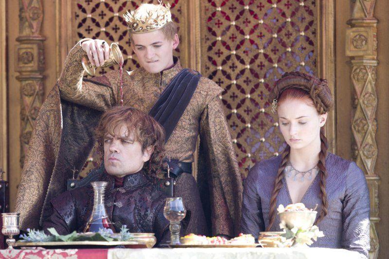 Tyrion Lannnister Joffrey Baratheon And Sansa Stark