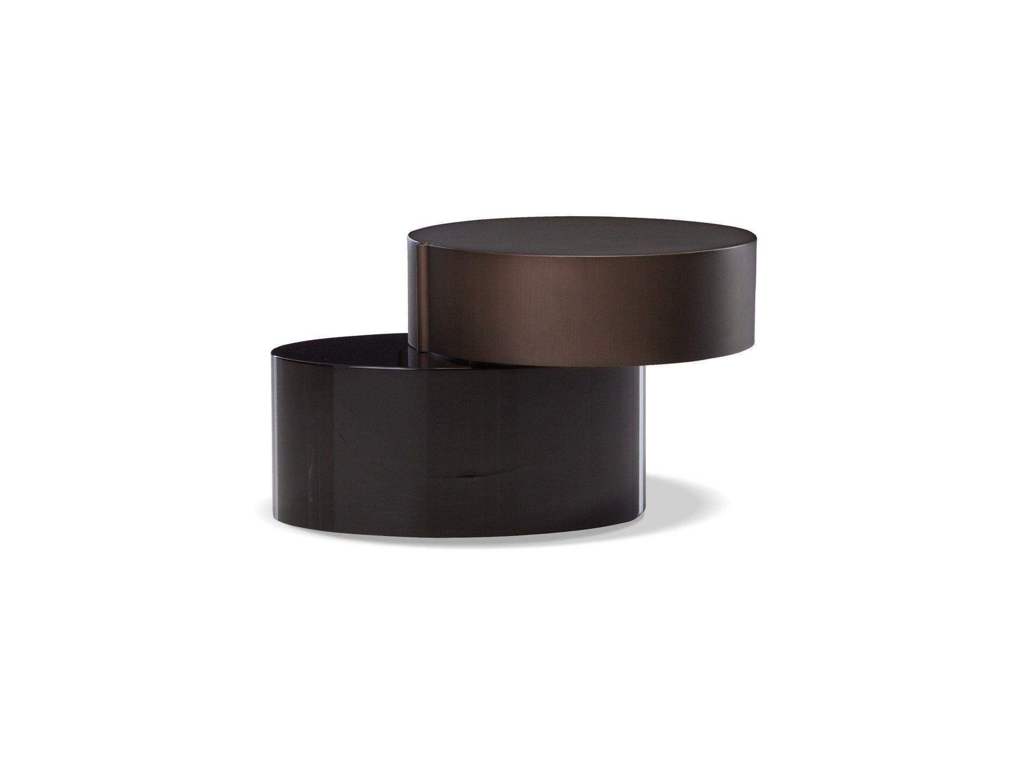 Mesa de centro baixa BENSON by Minotti | design Rodolfo Dordoni