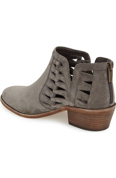 ea47cf0d88d Free shipping and returns on Vince Camuto  Peera  Cutout Bootie (Women)  (Nordstrom Exclusive) at Nordstrom.com. Angular cutouts and a low-slung  shaft show ...
