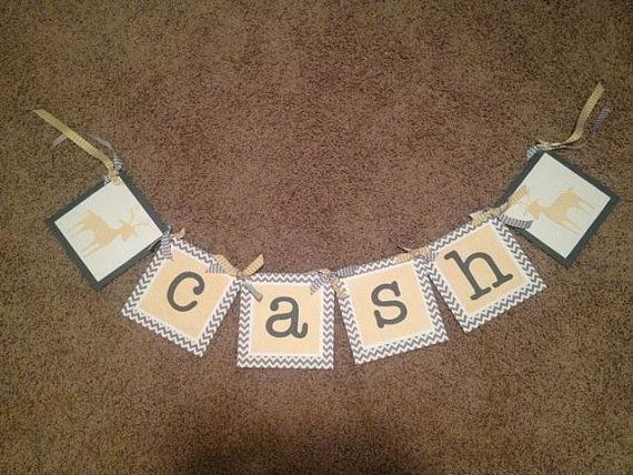 Personalized Banners Choose Your Colors and Theme on Etsy, $24.50