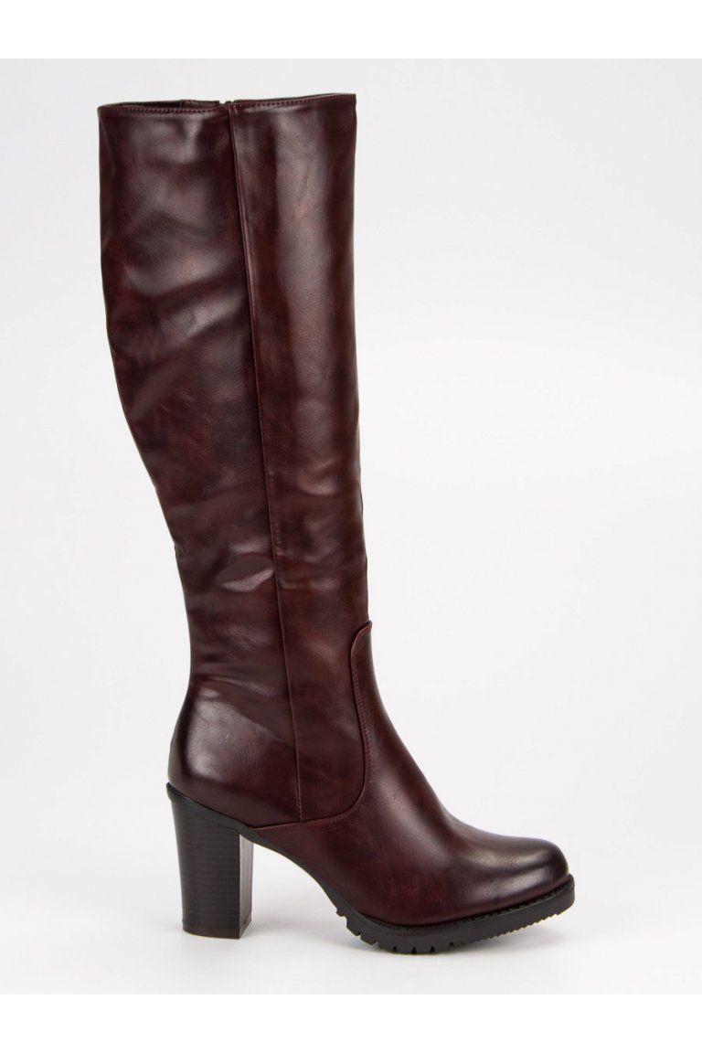 6f79ba8af3 Klasické červené topánky VINCEZA
