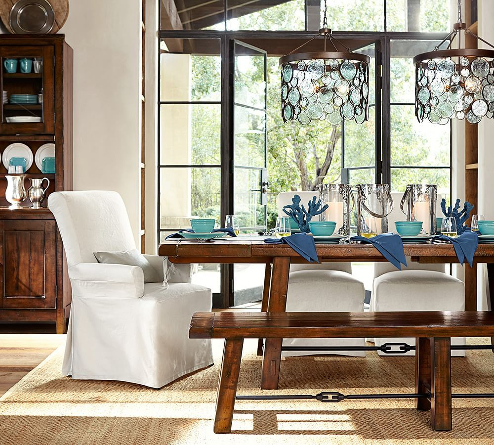 benchwright extending dining table | pottery barn | dining room, Esszimmer dekoo