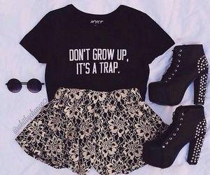 I looove that's skirt