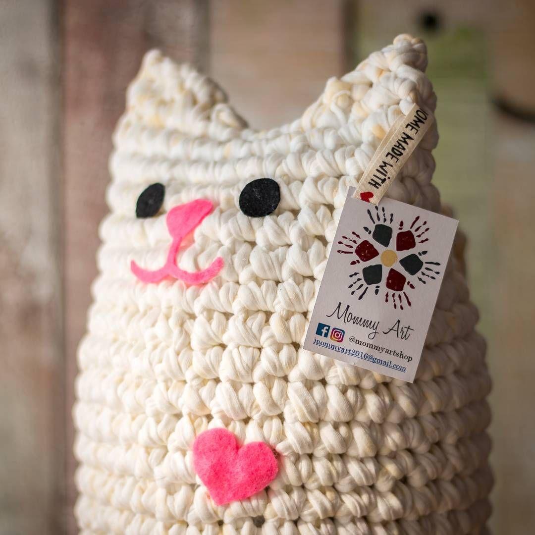gatotrapillo #gatomishto #gato a #amigurumi @mommyartshop. Köszönet ...