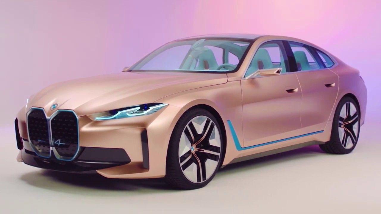 Bmw I4 Concept Otomobilir In 2020 Bmw Bmw Sports Car Bmw Concept
