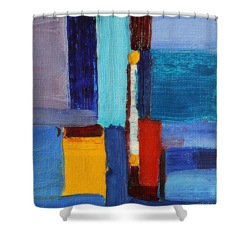 Abstract No 2 Shower Curtain For Sale By Nancy Merkle