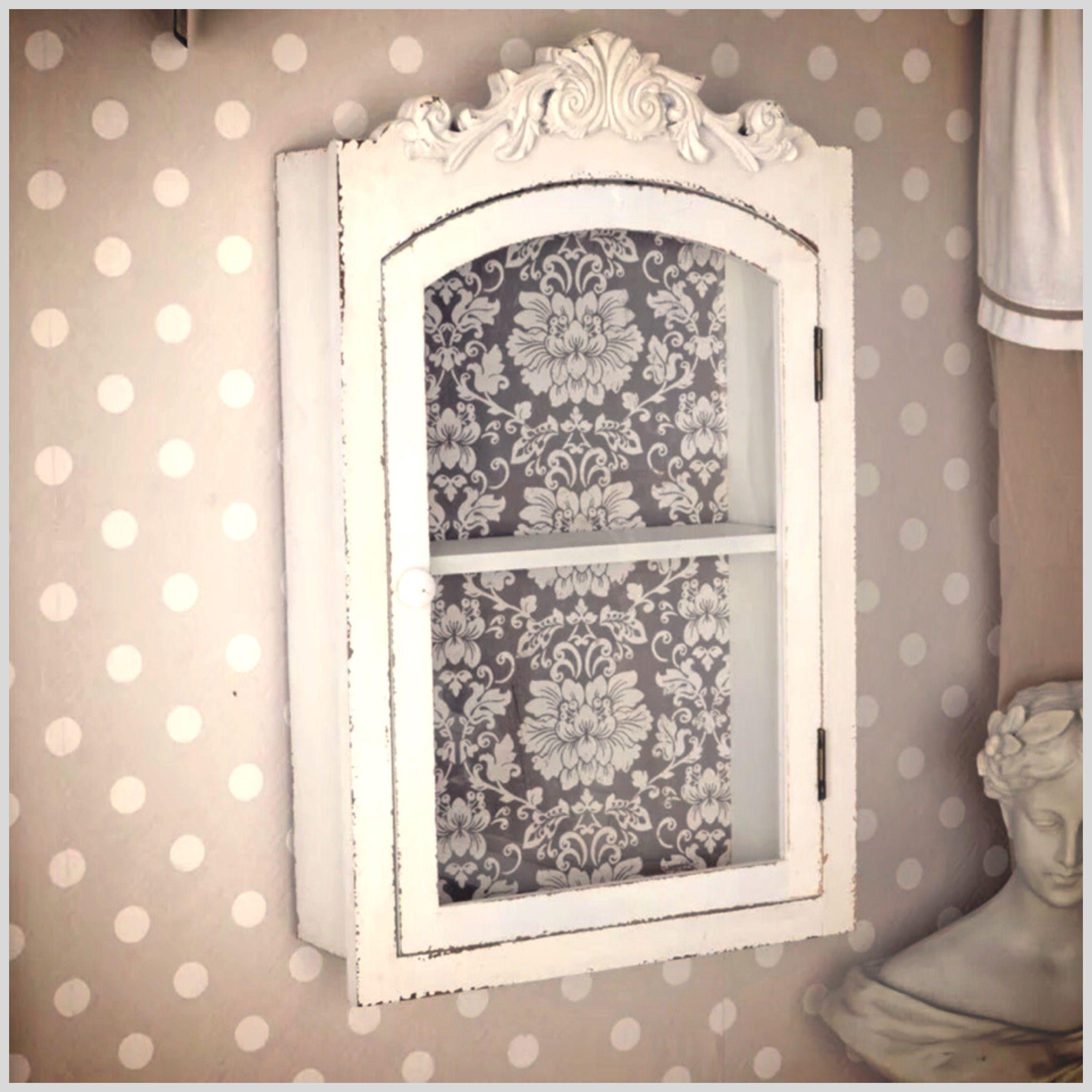 Wand Schrank Shabby Chic Vintage Retro | Home - Decoration - Ideas ...