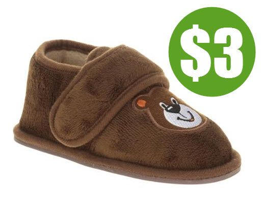Walmart: Kids & Toddler Slippers from $3.00 Each! - http://www.swaggrabber.com/?p=287704