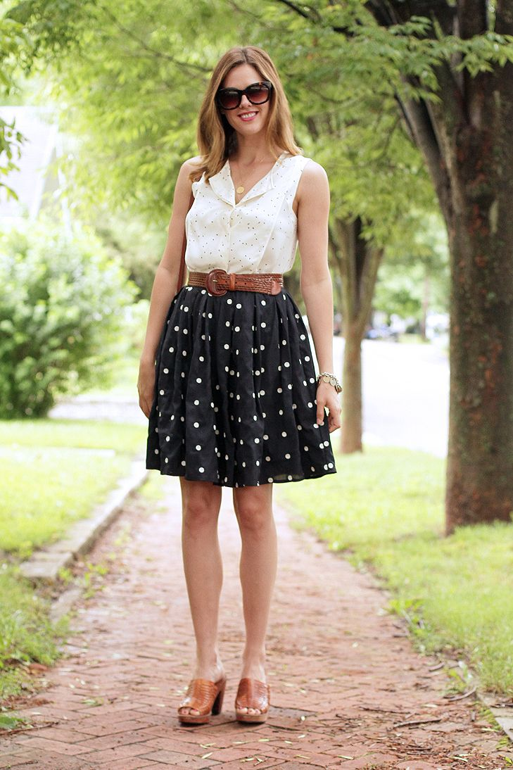 What I Wore: Polka | To Wear | How to wear, Fashion, What ...