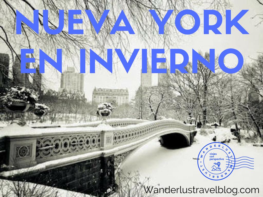 Nueva York en Invierno, que hacer, como disfrutarlo.