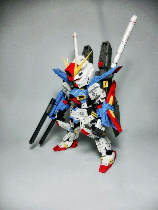 Gundam ZZ SD,Ver,ikai,,Paper Model!!!