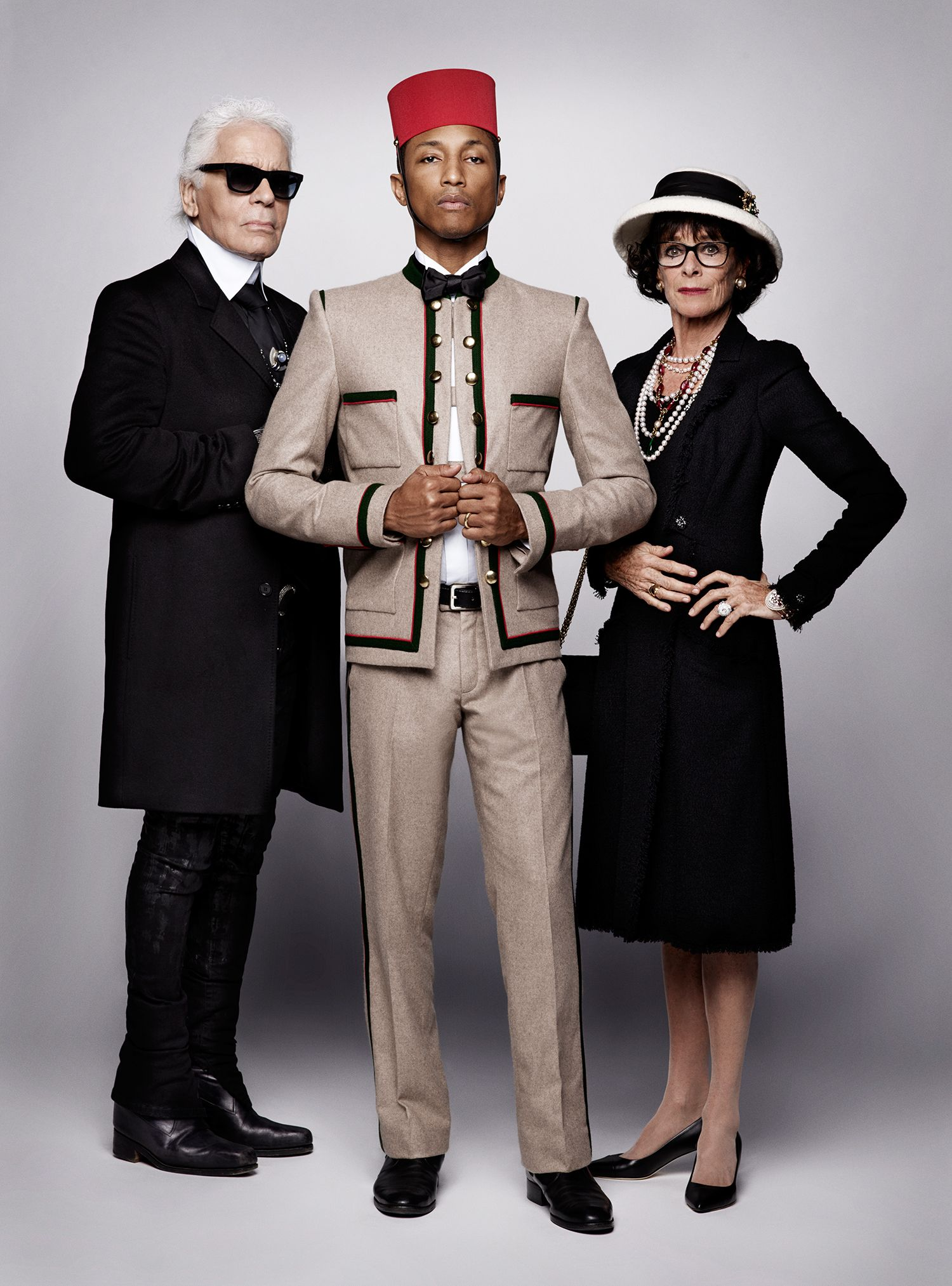 Cara Delevingne et Pharrell Williams envoûtent la nouvelle campagne de Chanel | Vanity Fair