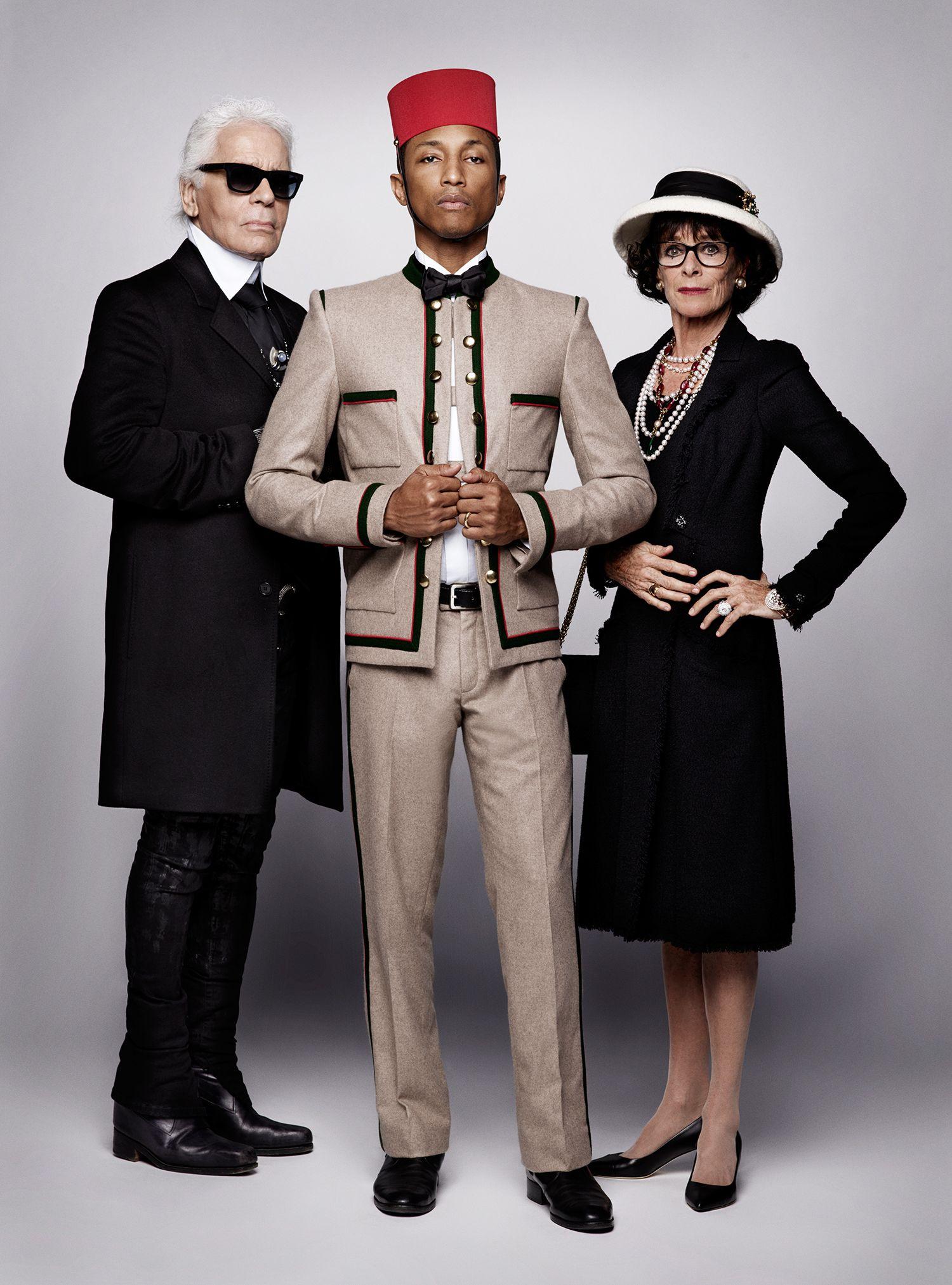 da0a0af03 Cara Delevingne et Pharrell Williams envoûtent la nouvelle campagne de  Chanel