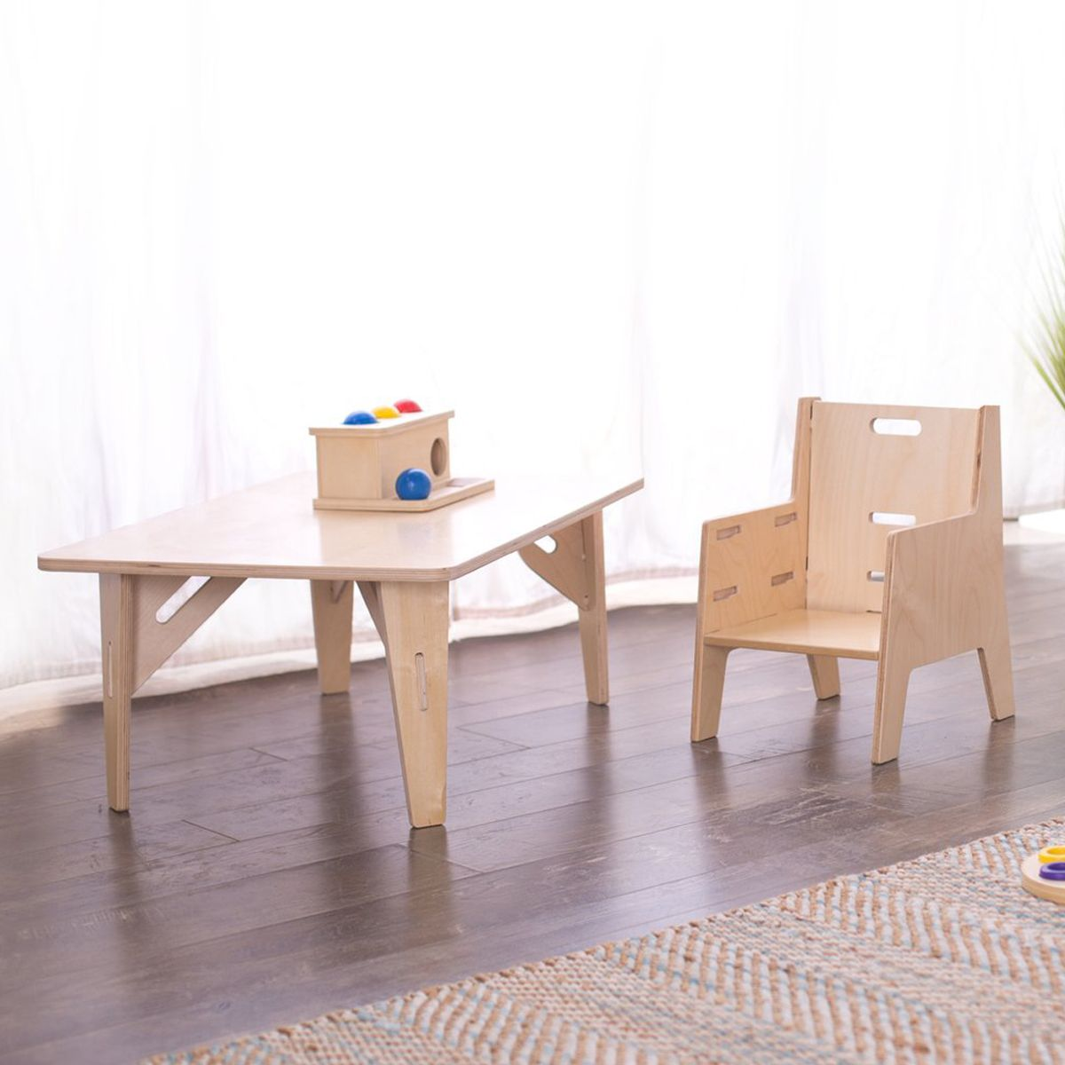 Montessori Weaning Chair & Table Set