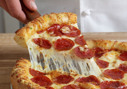 Download the Domino's mobile app to order your favorite