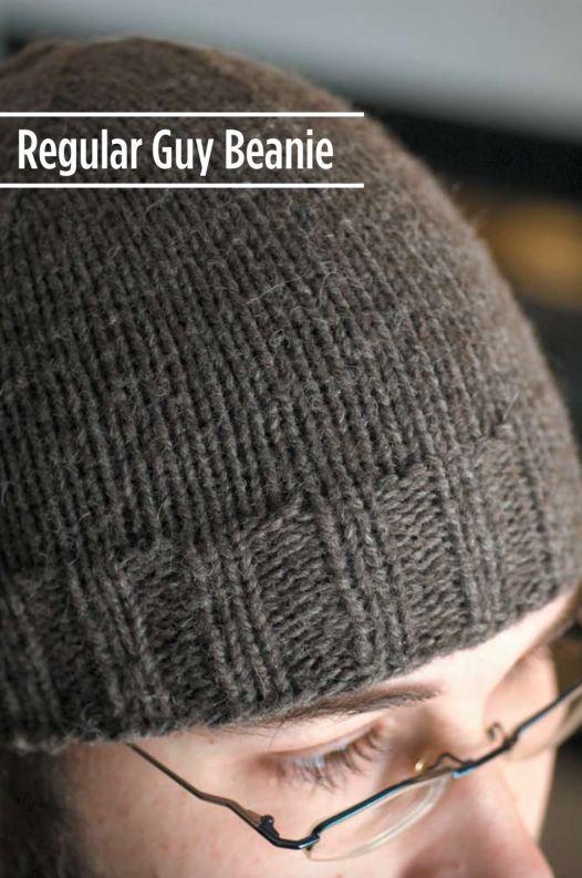 Regular Guy Beanie Free Beanie Knitting Pattern Screen Shot