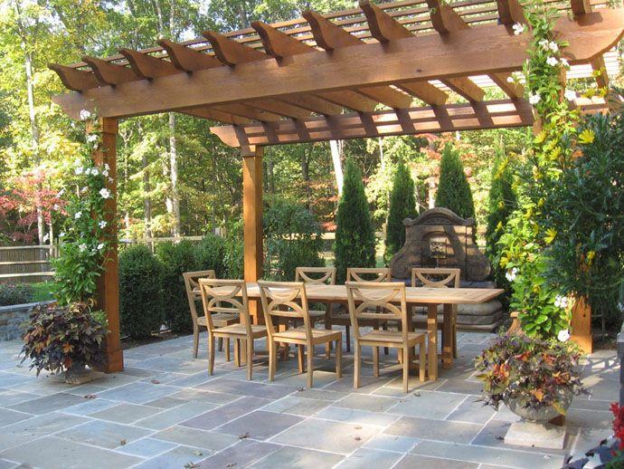25 Beautiful Pergola Design Ideas | Pergolas, Gardens and Outdoor ...