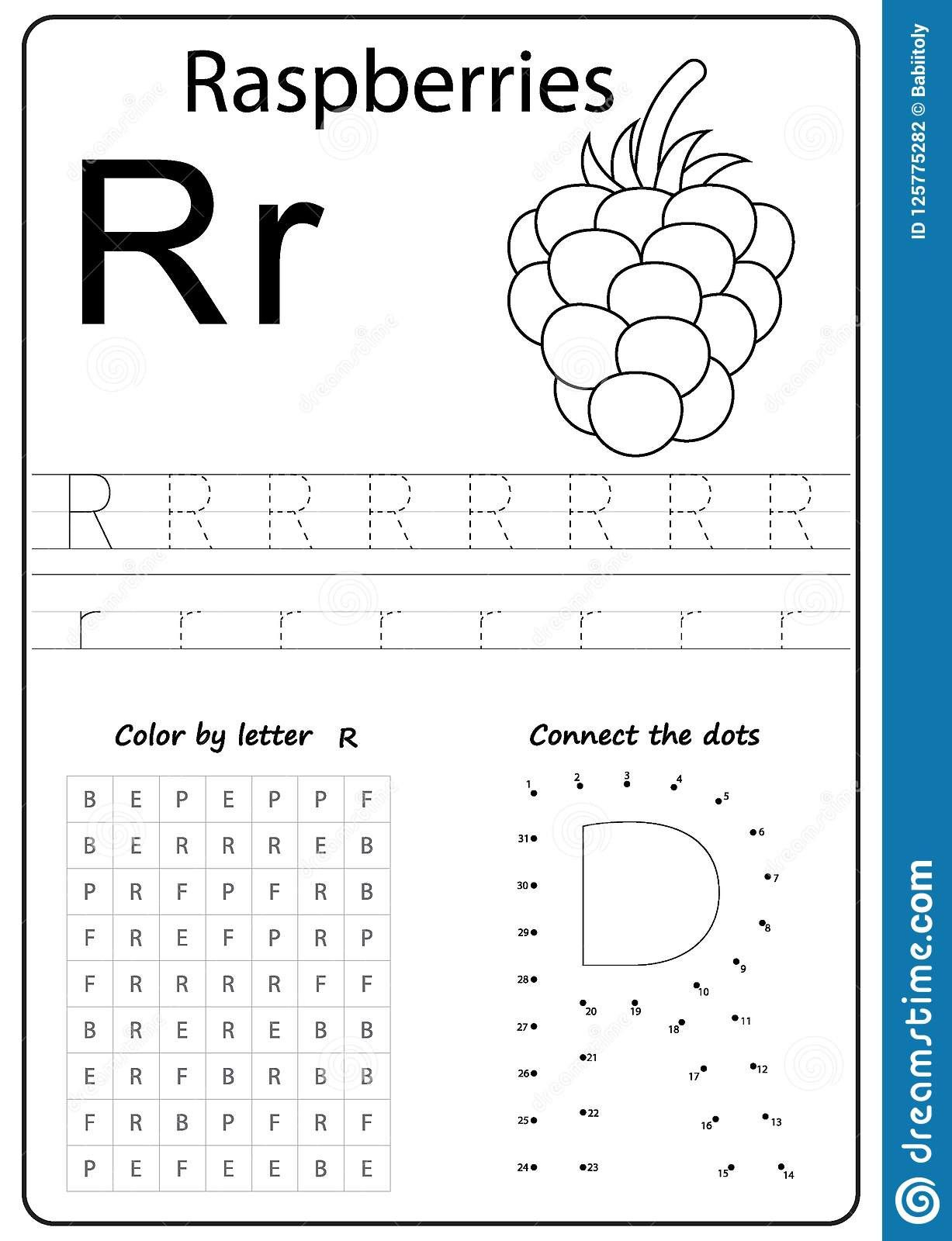 6 Letter R Handwriting Worksheet In With Images
