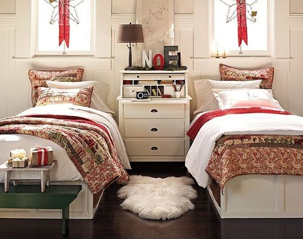 26 inspiring christmas bedroom design with fresh ideas