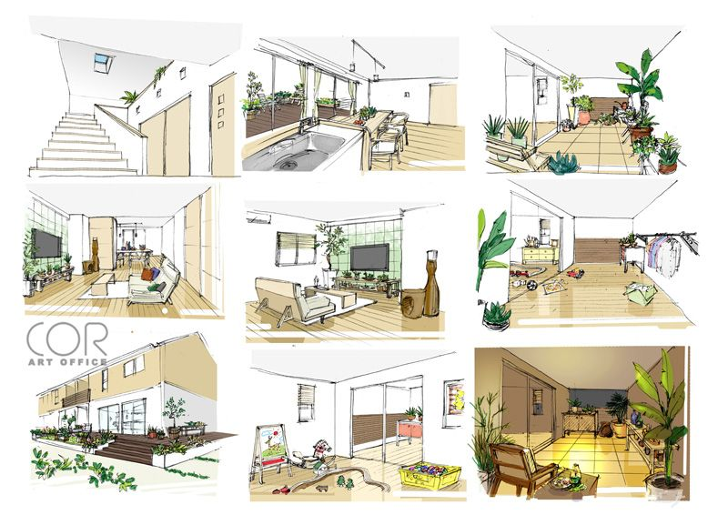 建築パース プロへのインタビュー コル アート オフィス 西口浩英