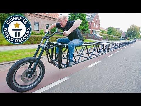 The World S Longest Bike Stretches An Astonishing 117 Feet