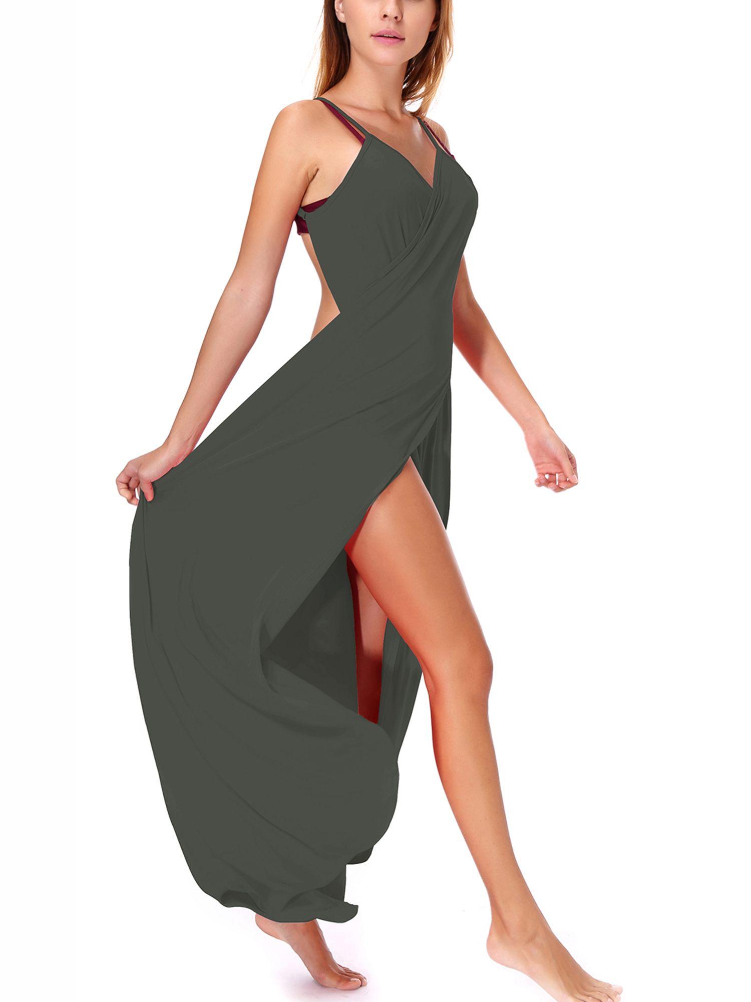 10e5763a2e2 SAYFUT Juniors  Beach Cover up Bikini Bathing Suits Sexy Spaghetti Strap  Bikini Wraps Plus Size