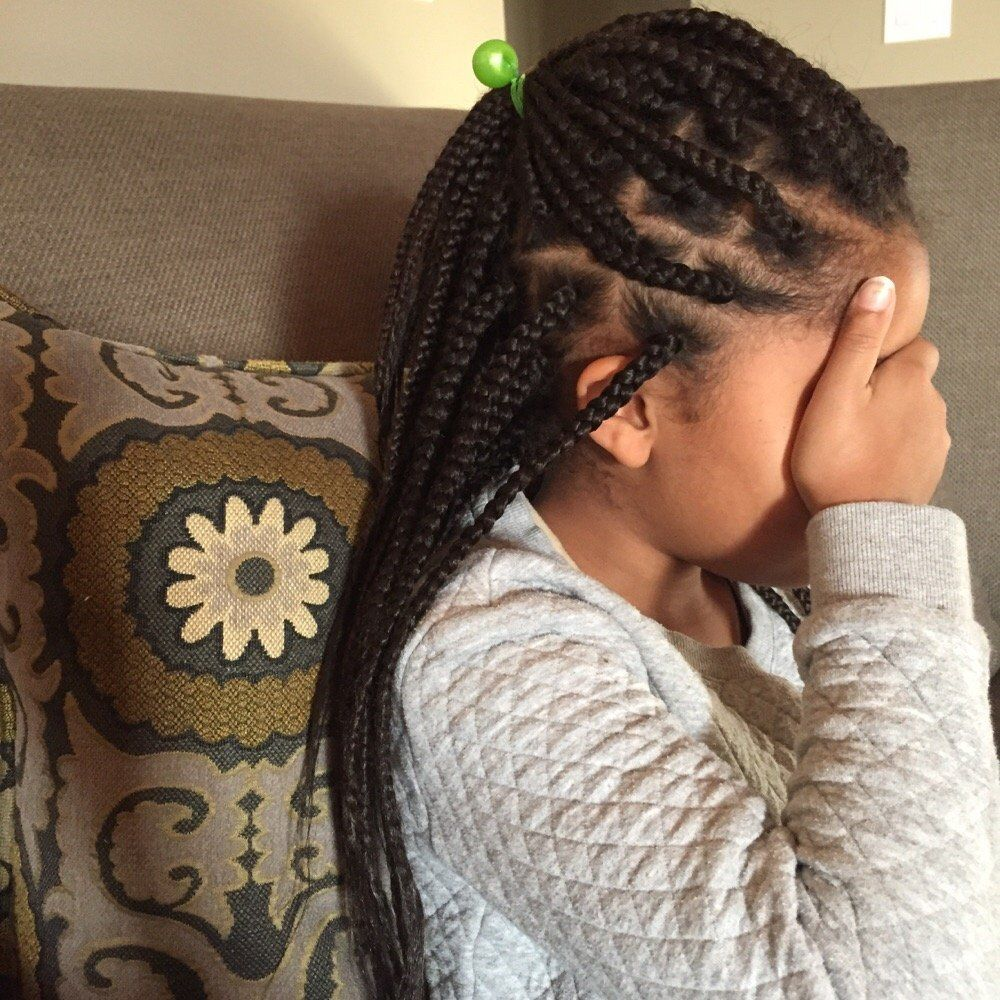 Zanai's Love Of Hair  Akiya P  Oakland, Ca, United States Little Girl  Box Braids To Install)