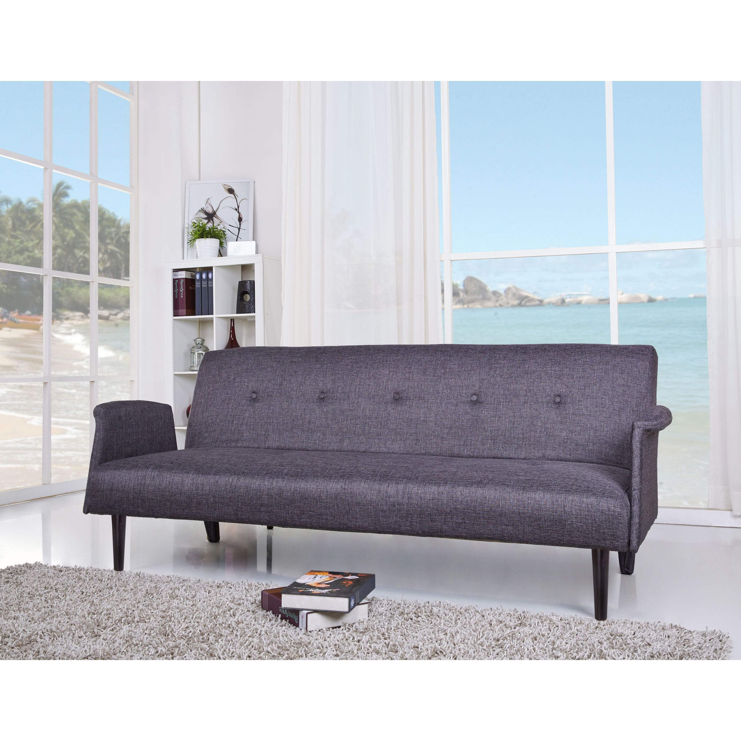 get a modern look that adds comfort and style to your home with the westminster convertible sofa bed european style with a sleek design will inspire a