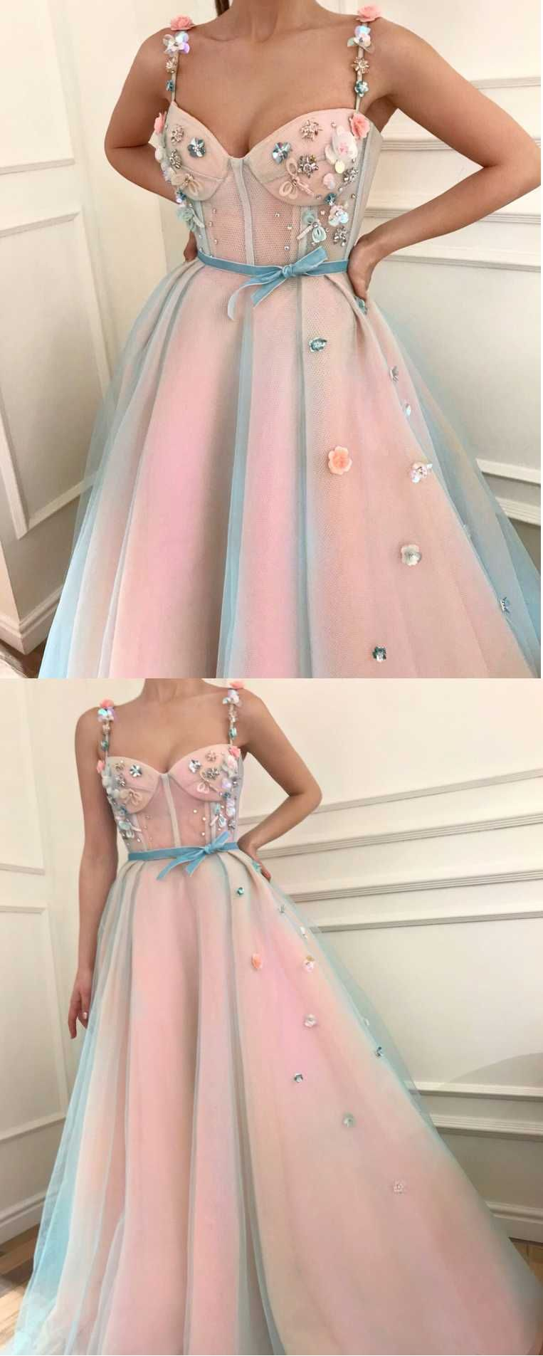 2018 Hot Sale Long Evening Dress,A-Line Prom Dresses,Sexy evening ...