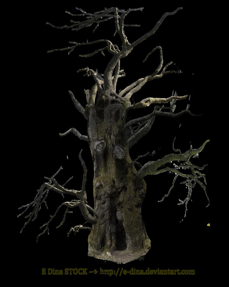 Hq Png Stock Spooky Tree Mann Spooky Trees Dark Tree Digital Art Supplies