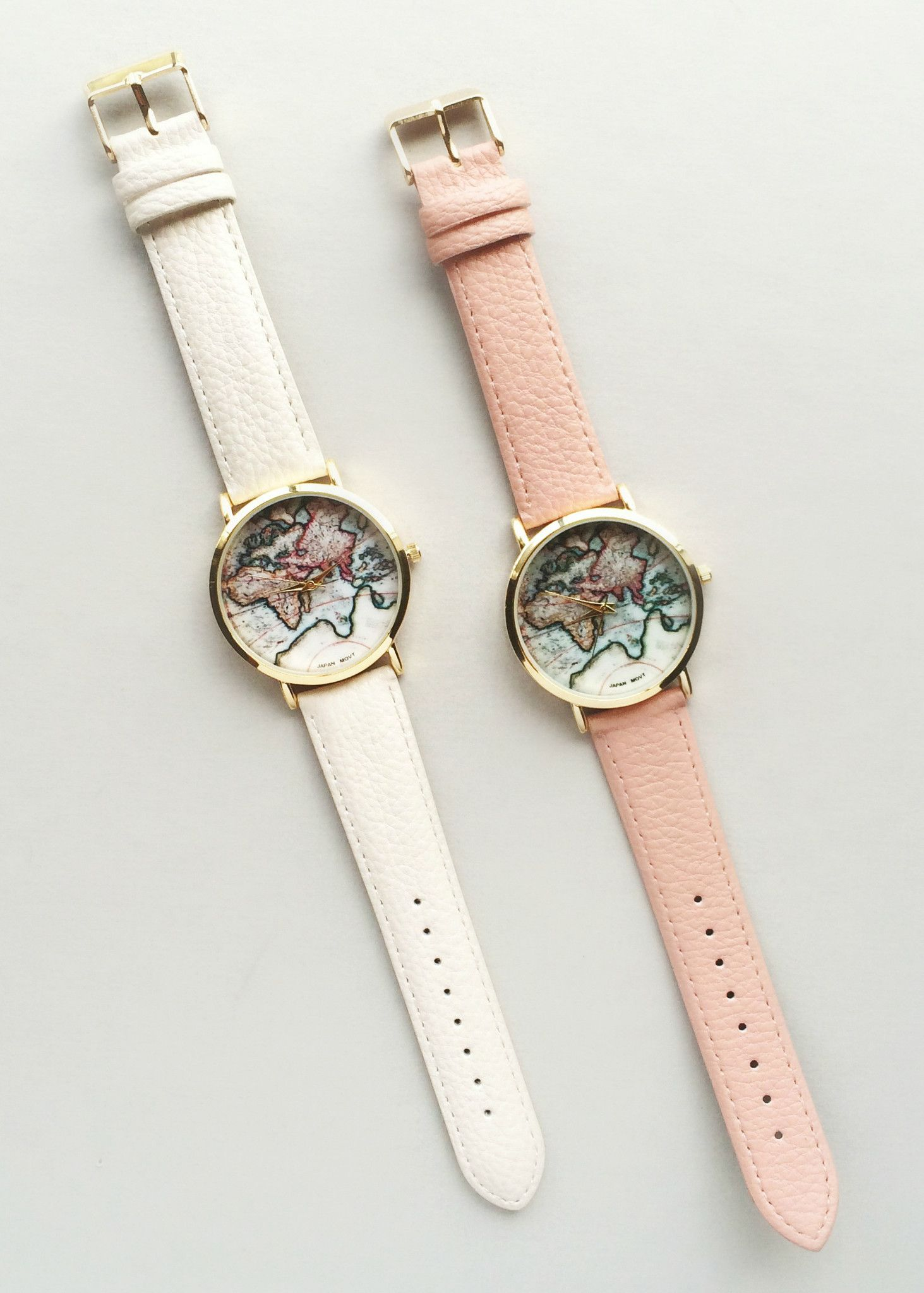 Detroit In World Map%0A World Map Watch   Pink or Beige