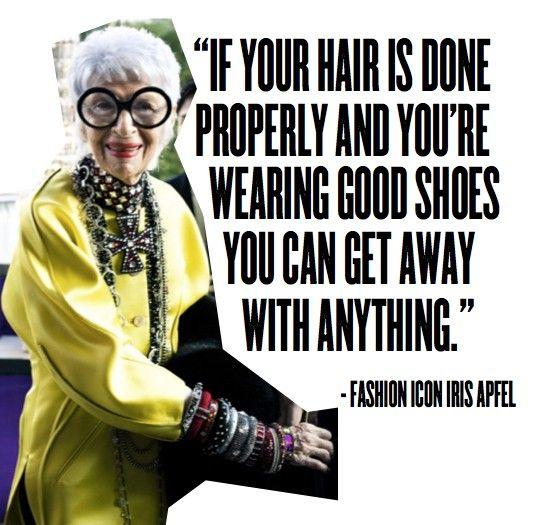 Iris Apfel Knows Best Iris Apfel Style Icons Style Icon