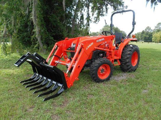 3301 Kubota Tractor Grapple Single Arm Grapple Small Grapple Root Rake Tractors Tractor Accessories Kubota Tractors