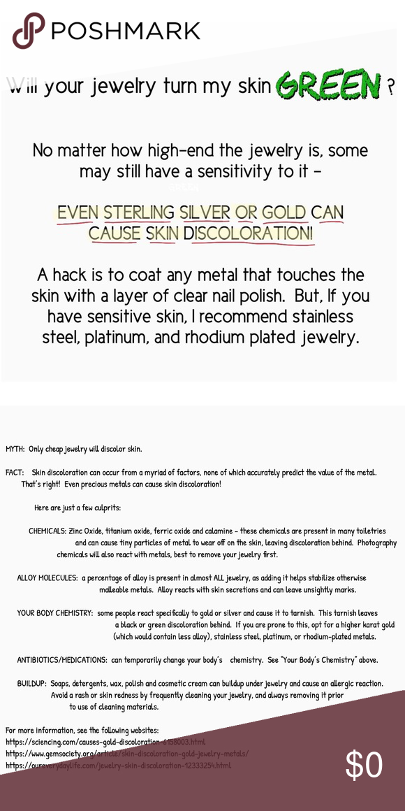 Why Some Jewelry Turns Your Skin Green? | Jewelry Jealousy