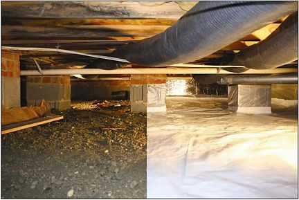 Crawl space before and after | Ideas remodelling | Home insulation on mobile home registers, mobile home underlayment, mobile home locks, mobile home hvac ducting, mobile home heating, mobile home furnace roof jack, mobile home pipes, mobile home drains, mobile home fans, mobile home borders, mobile home vent covers, mobile home air diffusers, mobile home grates,