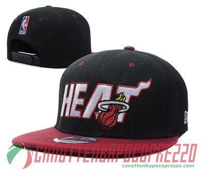 cappelli nba poco prezzo Miami Heat nero Miami heat
