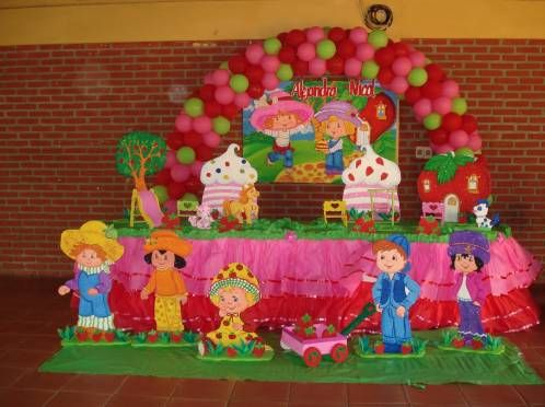 Frutillitas | Strawberry Shortcake Party Ideas | Pinterest