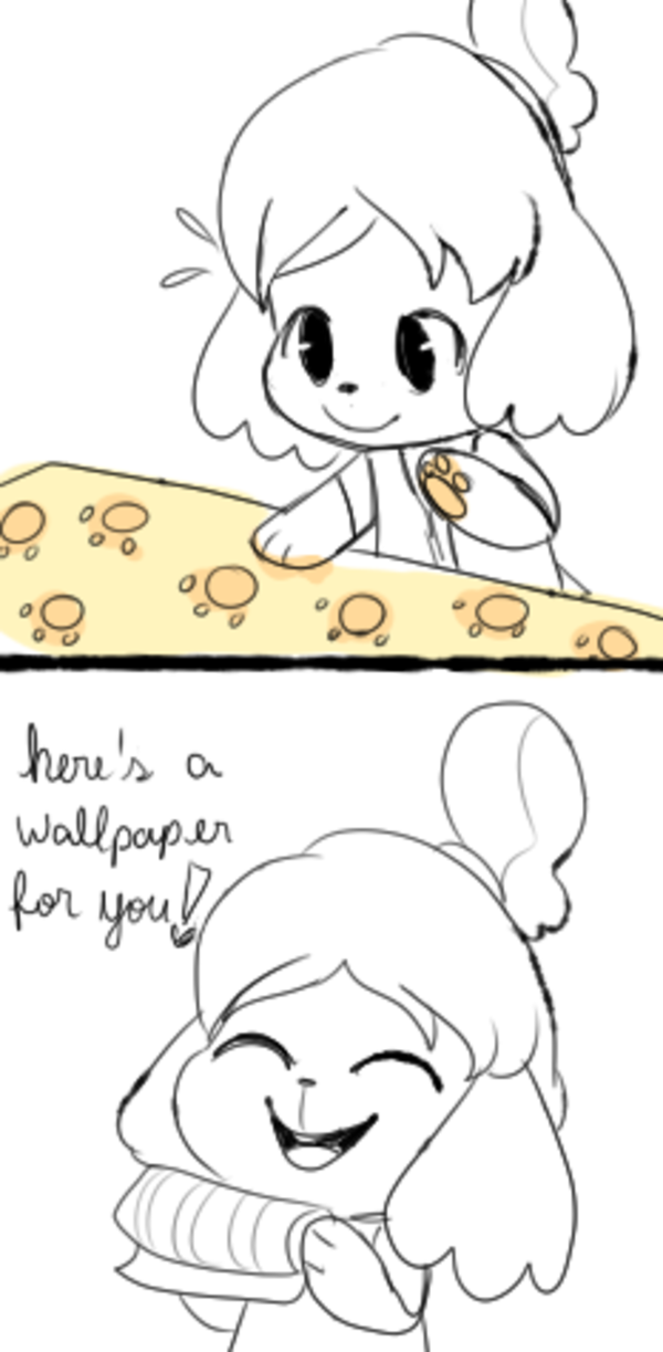 ISABELLE YOU ARE SO PRECIOUS AND I LOVE YOU SO MICH, I WISH NINTENDO ALLOWED US TO SEND LETTERS TO YOU TOO BECAUSE YOU DESERVE EVERYONE'S LOVE A D ADORATION!!! (°◡°♡)