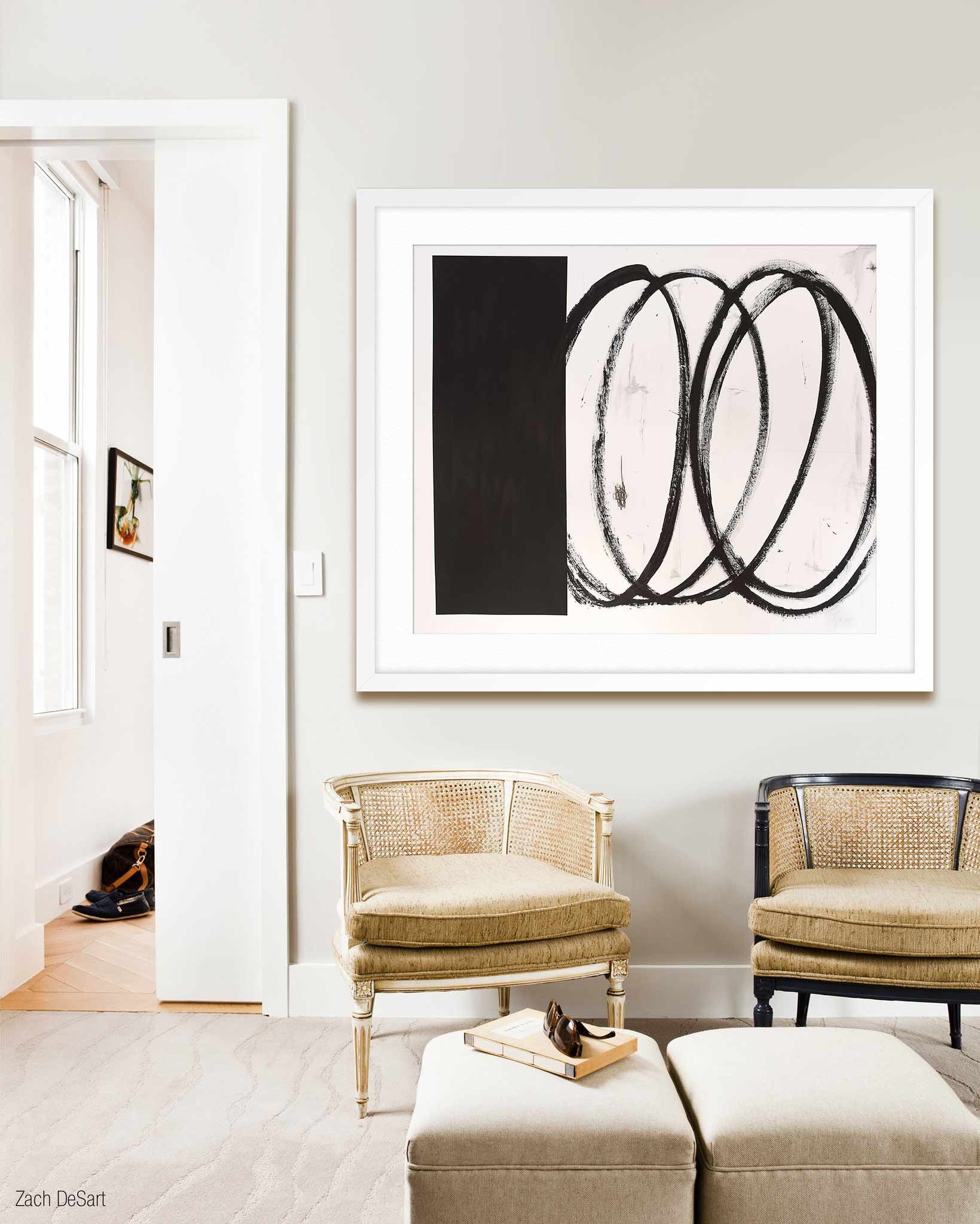 White and black swirls | Solomon, Squares and Game rooms