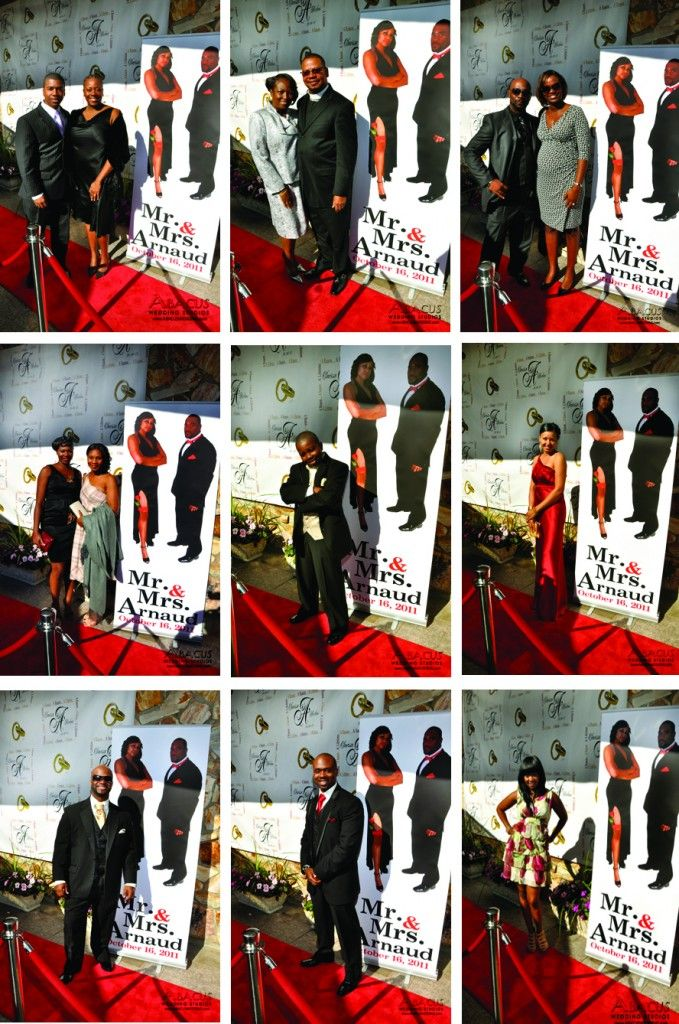 Red Carpet Wedding anyone? Neat idea, but we\'re not sure we like ...