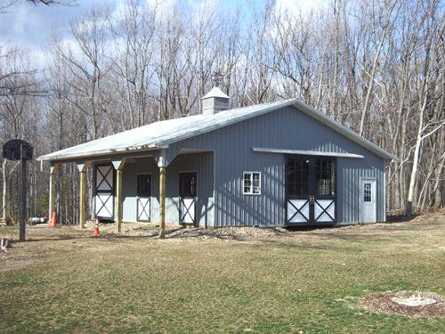 Metal Siding & Roofing | Pole Barn Metal Cladding