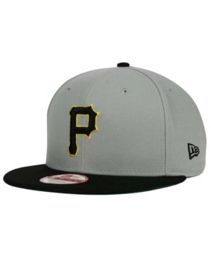 new concept b348c 78126 New Era Pittsburgh Pirates Mlb 2 Tone Link Cooperstown 9FIFTY Snapback Cap  - Black Adjustable
